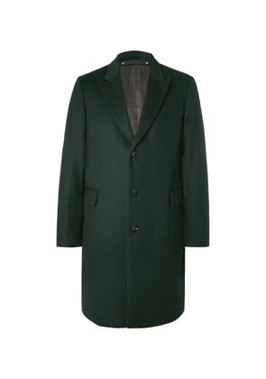 Paul Smith - Wool And Cashmere-blend Overcoat - Green