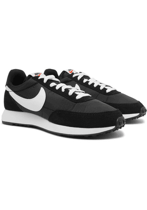 Nike - Air Tailwind 79 Mesh, Suede And Leather Sneakers - Black