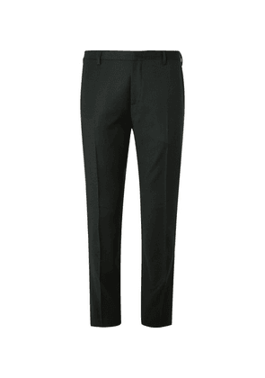 Paul Smith - Dark-green Slim-fit Cotton-flannel And Cashmere-blend Suit Trousers - Green