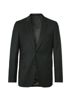Paul Smith - Dark-green Slim-fit Wool And Cashmere-blend Flannel Suit Jacket - Dark green
