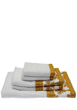Barocco & Robe Set Of 5 Cotton Towels