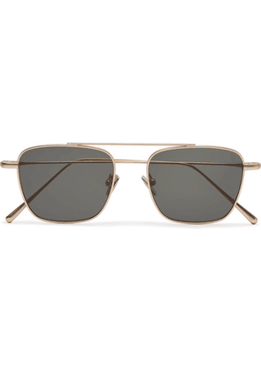 Cubitts - Collier Aviator-style Gold-tone Sunglasses - Gold
