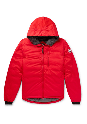 Canada Goose - Lodge Slim-fit Nylon-ripstop Hooded Down Jacket - Red