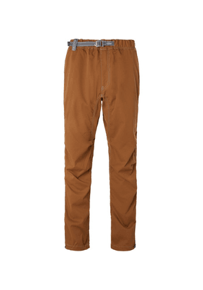 And Wander - Shell Climbing Trousers - Brown