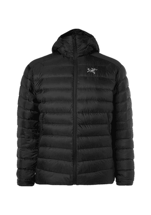 Arc'teryx - Cerium Lt Quilted Shell Hooded Down Jacket - Black