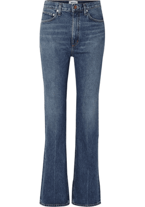 AGOLDE - Organic High-rise Flared Jeans - Blue