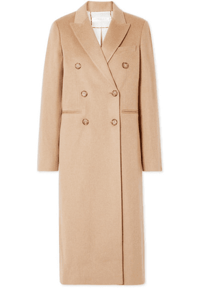 Victoria Beckham - Double-breasted Wool Coat - Camel