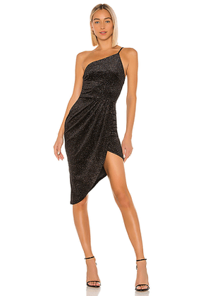 Lovers + Friends Wilson Midi Dress in Black. Size M,S,XL,XS,XXS.