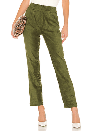 Lovers + Friends Lilith Pant in Green. Size M,S,XL,XS,XXS.