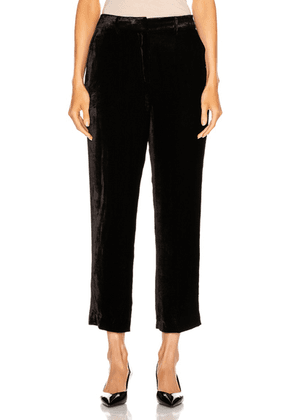 Sies Marjan Willa Cropped Pant in Black - Black. Size 0 (also in 2,4,6,8).