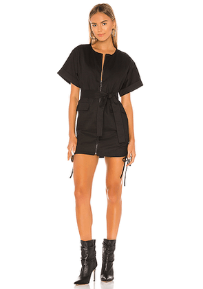 Lovers + Friends Ashwood Mini Dress in Black. Size M,S,XL,XS,XXS.
