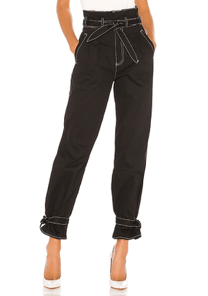 Lovers + Friends Midvale Pant in Black. Size M,S,XL,XS,XXS.