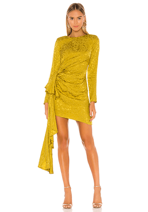 Lovers + Friends Matilda Mini Dress in Mustard. Size M,S,XL,XS,XXS.