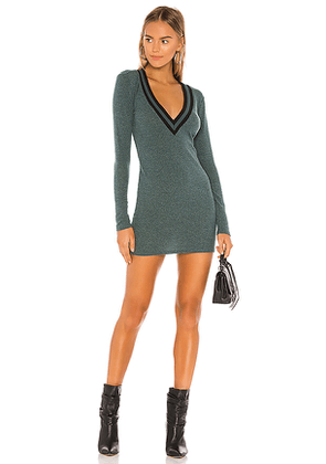 Lovers + Friends Penny Sweater Dress in Green. Size M,S,XL,XS,XXS.