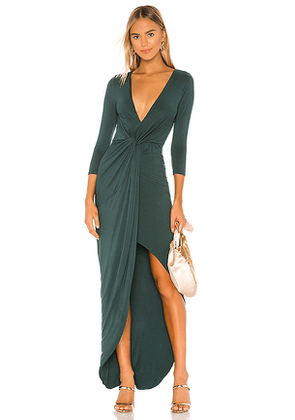 Lovers + Friends Sundance Maxi Dress in Green. Size M,S,XL,XS,XXS.
