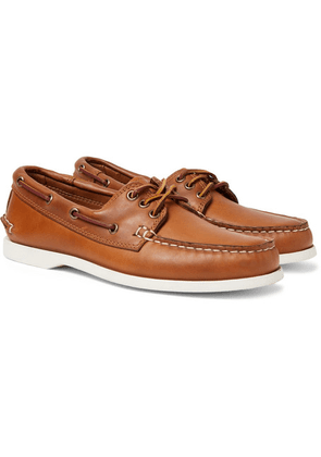 Quoddy - Downeast Leather Boat Shoes - Light brown