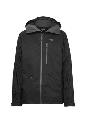 Patagonia - Insulated Snowshot H2no Performance Standard Micro-twill Hooded Jacket - Black