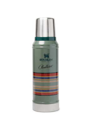 Pendleton - + Stanley Printed Insulated Stainless Steel Thermos Flask - Green