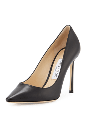 Romy 100mm Leather Pumps (Customizable)