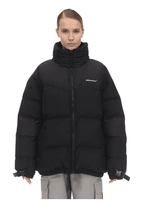 Oversized High Collar Down Jacket