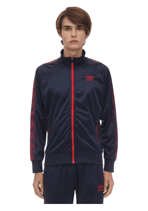 Zip-up Nylon Track Top