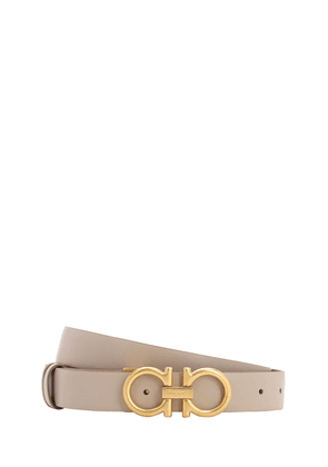 25mm Double-faced Leather Belt