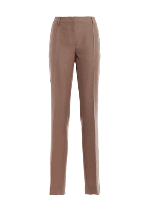 Mohair And Wool Formal Trousers