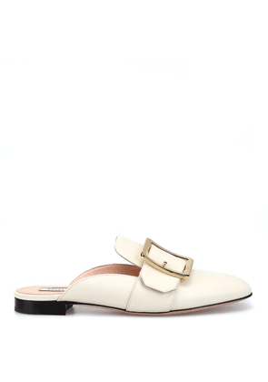 Janesse Calf Leather Mules