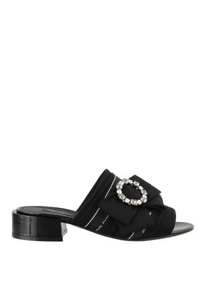 Jewelled Bow Sandals