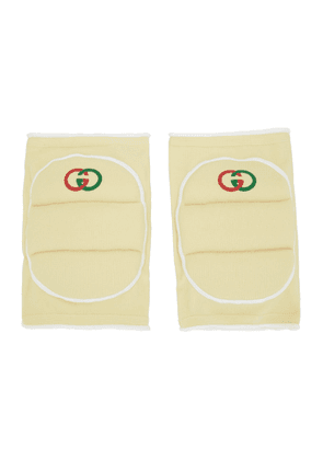 Gucci Off-White Logo Knee Pads