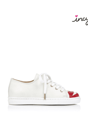 Charlotte Olympia Sneakers Women - INCY KISS ME SNEAKERS OFF WHITE Nappa 25