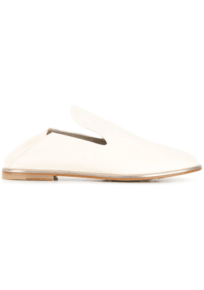 AGL low heel mules - White