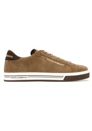 Dolce & Gabbana lace-up sneakers - Brown