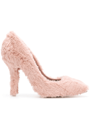 Dolce & Gabbana fluffy pumps - Pink