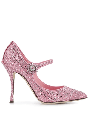 Dolce & Gabbana Lori Mary Jane pumps - Pink