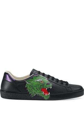 Gucci Ace sneaker with panther - Black