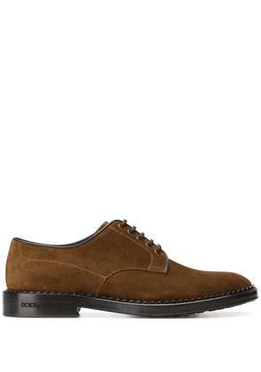 Dolce & Gabbana classic derby shoes - Brown