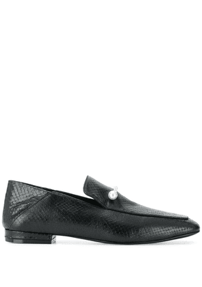 Coliac pearl horse-bit loafers - Black