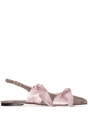 Gia Couture Eva ballerina shoes - Grey