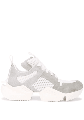 Unravel Project panelled sneakers - Grey