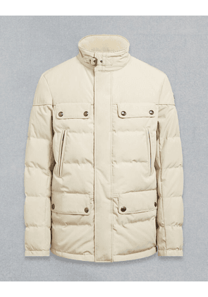 Belstaff MOUNTAIN QUILTED JACKET White UK 40 /