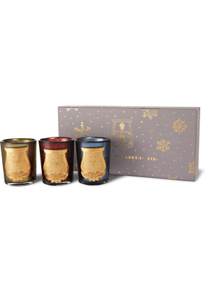 Cire Trudon - Holiday Scented Candle Set, 3 X 100g - Colorless