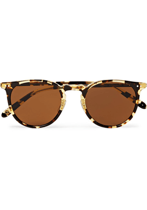 Garrett Leight California Optical - Ocean 46 Round-frame Tortoiseshell Acetate Sunglasses - Tortoiseshell