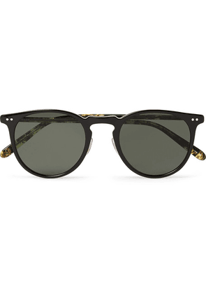 Garrett Leight California Optical - Ocean 46 Round-frame Acetate Sunglasses - Black