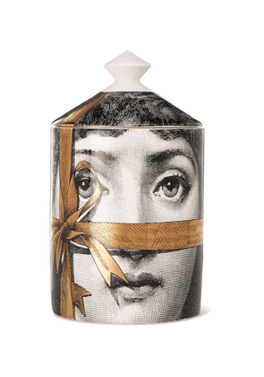 Fornasetti - Regalo Scented Candle, 300g - Gray