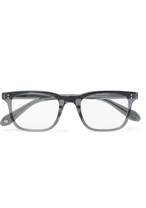 Garrett Leight California Optical - Bernard 49 D-frame Acetate Optical Glasses - Gray