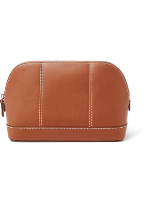 Connolly - Leather Wash Bag - Tan