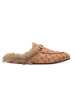 Princetown GG canvas slipper