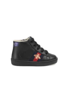 Toddler Ace leather high-top sneaker
