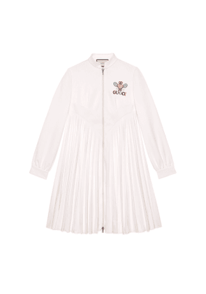 Technical jersey dress with Gucci Tennis